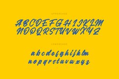Scribe Brush Script Font Product Image 3