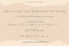 Northern Forest   Handwritten Signature Typeface Product Image 3