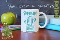 Cactus Grades On Point Elementary School SVG Product Image 3