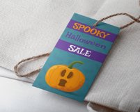 HALLOWEEN label tags. Product Image 4
