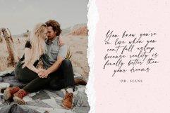 Loneliness Romantic script Product Image 6