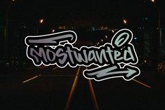 BACKINGERS - Graffiti Font Product Image 6