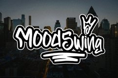 BACKINGERS - Graffiti Font Product Image 3