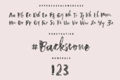 Backstone Fabric Font Product Image 6
