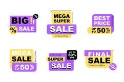 Sale sign set Product Image 1