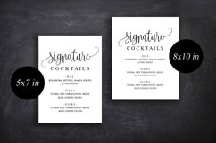 Signature Cocktail Sign Wedding Product Image 6