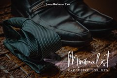 Jonas Beckman - Two Signature Font Product Image 3
