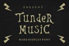 Thunder Music Font Product Image 1