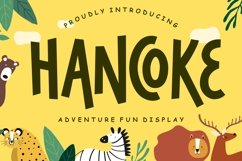 Hancoke Adventure Fun Display Product Image 1
