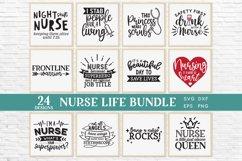24 Nurse Life svg bundle - nurse shirt svg bundle Product Image 2