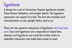 gibster sans font Product Image 3
