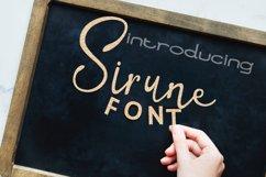Sirune Font Product Image 1