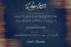 Rawless Natural Handbrushed Font Product Image 5