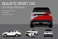Sport Car Mock-Up Product Image 3