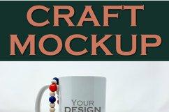 Mockup   Sublimation Mug Patriotic USA  Craft mock up Product Image 2