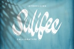 Sulifec | Calligratype Script Font Product Image 1