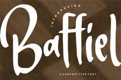 Baffiel - A Handwritten Font Product Image 1