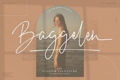 Baggelen - Stylish Signature Fonts Product Image 1