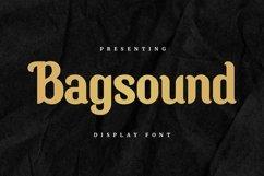 Web Font Bagsound - Display Font Product Image 1