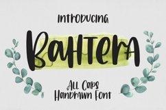 Web Font Bahtera - All Caps Handrawn Font Product Image 1