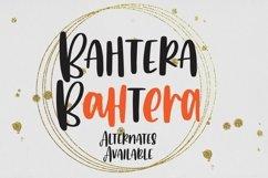 Web Font Bahtera - All Caps Handrawn Font Product Image 3