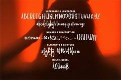 Web Font Balaney - A Display Font Product Image 5