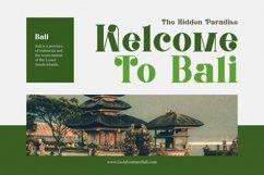 Web Font Balinestle Product Image 5