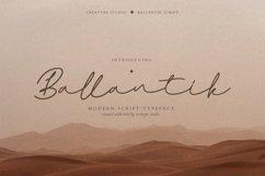 Ballantik Modern Monoline Script Product Image 1