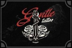 Web Font Baltghine - Tattoo Font Product Image 2