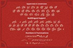 Web Font Baltghine - Tattoo Font Product Image 5