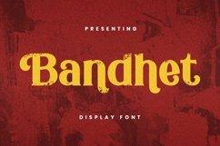 Web Font Bandhet Font Product Image 1