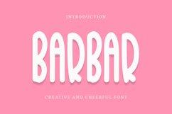 BarBar - Cheerful Font Product Image 1