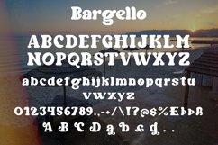 Bargello - Display Serif Font Product Image 4