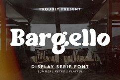 Bargello - Display Serif Font Product Image 1