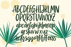 Web Font Barissa - Hand Lettering Font Product Image 5