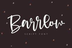 Barrlow - Script Font Product Image 1