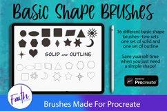 Basic Shapes Brushes For Procreate Product Image 1