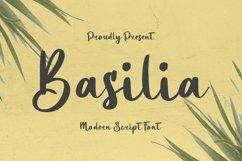 Web Font Basilia Font Product Image 1