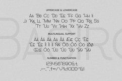 Web Font Basiro Font Product Image 5