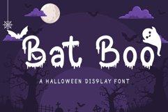 Bat Boo - A Halloween Display Font Product Image 1
