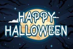 Bat Boo - A Halloween Display Font Product Image 2