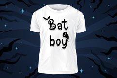 Bat Boo - A Halloween Display Font Product Image 5