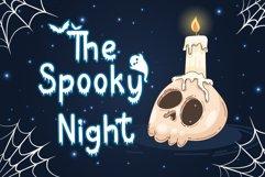 Bat Boo - A Halloween Display Font Product Image 6