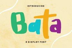 Bata - Display Font Product Image 1