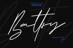 Battsy Signature Font Product Image 1
