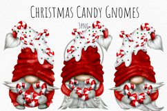 Christmas Candy Gnomes PNG Product Image 1