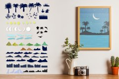 Summer landscape creator in abstract vector. Product Image 3