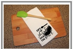 Life Is Short Lick The Bowl Kitchen SVG Product Image 2