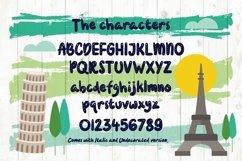 Web Font Travelouge Product Image 2