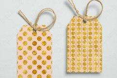 Gold foil Polka dot Blush Pink Seamless Pattern Product Image 6